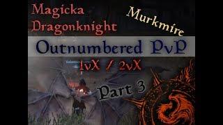 Magicka DK PvP Build Murkmire: Battle Roar   4k Spell Damage