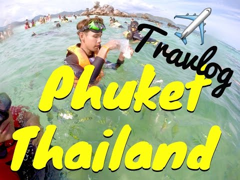 PHUKET THAILAND (PATONG BEACH, PHI PHI ISLAND, BANGLA ROAD & MORE) // TRAVLOG GOPRO