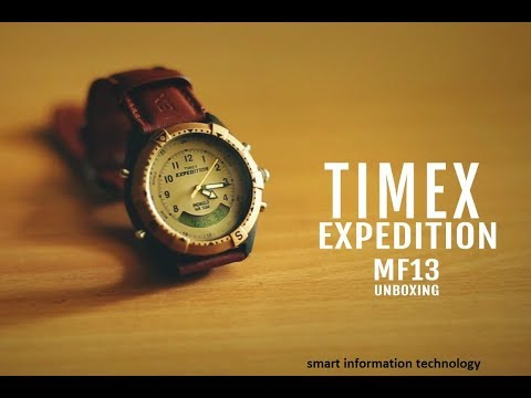 unboxing timex mf13 by amazon