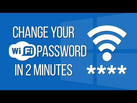 How To Change Your Wifi Name & Password On Windows