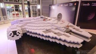 LEGO® Star Wars™ – World's Largest Millennium Falcon built at LEGOLAND® MALAYSIA RESORT