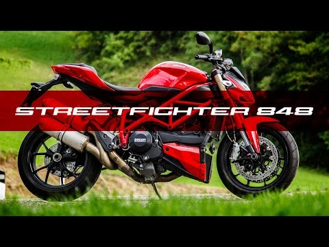 DUCATI STREETFIGHTER 848 EXHAUST FLAMES!