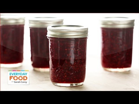 Sarah's Raspberry Jam - Everyday Food with Sarah Carey