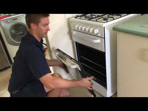 How to clean behind your cooker