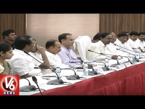 CM KCR Holds Review Meeting On Pattadar Passbooks And Rythu Bandhu Scheme | V6 News