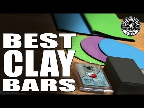 Best Clay Bar Options - Chemical Guys - Clay Bar/Clay Mitt/Clay Disc/Clay Block