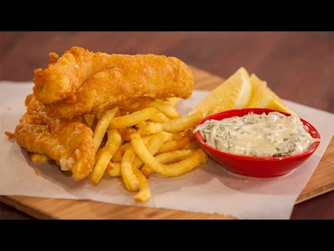 How to Make the Best Beer Battered Flathead and Chips - By Everyday Gourmet and Breville Australia