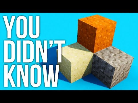 Things About Sand You May Not Know in Minecraft