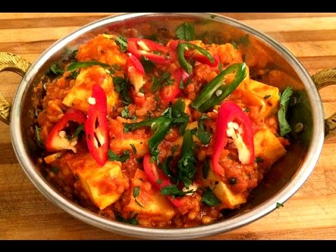 Paneer Dhansak | Hot, Spicy, Sour & Sweet Lentils with Cheese - Steven Heap