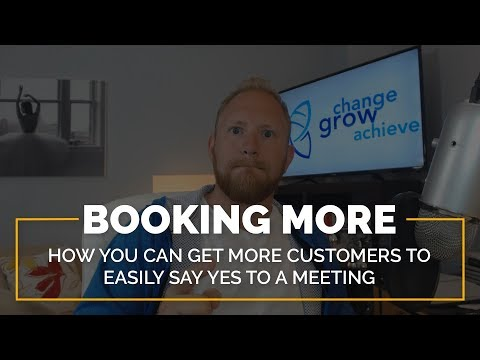 Booking More Appointments: How to Get Customers to Easily Say Yes