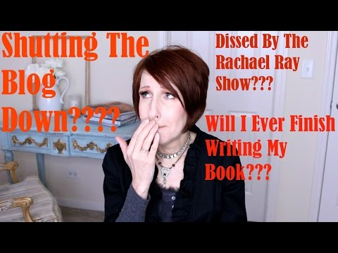 Shutting Blog Down | Dissed By The Rachael Show | My Book