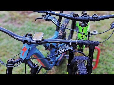 Riding the Stumpjumper 29 and Trance 29 Back to Back