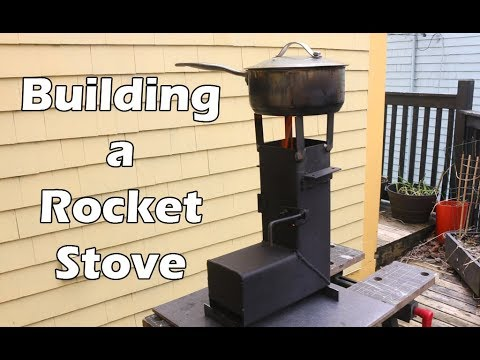 Rocket Stove Build - How to Build