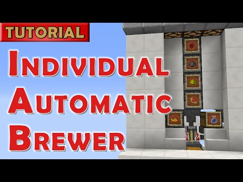 Minecraft - Individual Automatic Potion Brewer for 1.12+