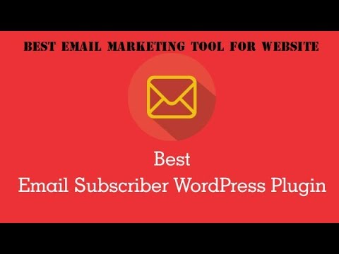 Email Subscriber Wordpress Plugin | Best Email Marketing Tool For Your Website