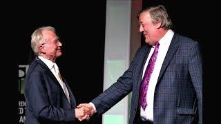 Stephen Fry and Richard Dawkins in Conversation