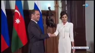 Birinci vitse-prezident Mehriban Əliyeva Rusiya Hökumətinin sədri ilə görüşüb