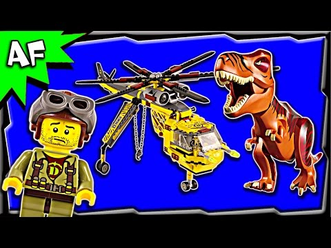 Lego DINO T-REX HUNTER 5886 Stop Motion Build Review