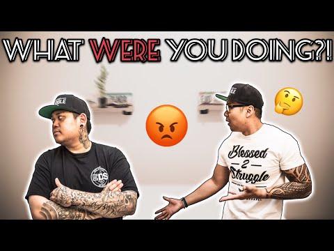 I CAUGHT HIM... *HE GOT MAD!!* | VLOG #6