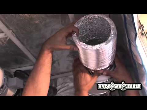 Vertical Hydroponic System & Grow Room Kit Setup Part 2