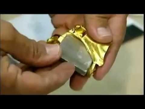 Fake 10oz Gold Bar Found in Manhattan 9-2012