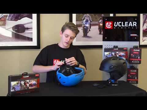 How to install your UCLEAR in a snow helmet