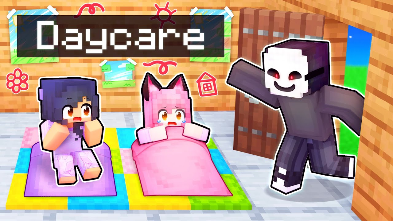 Evil INVADER Breaks Into DAYCARE In Minecraft!