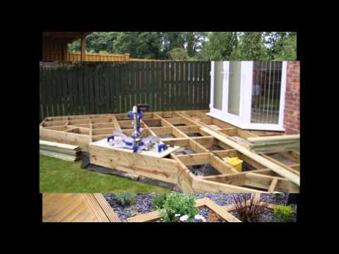 Small garden decking ideas