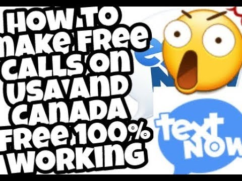 How to call USA and Canada totally free