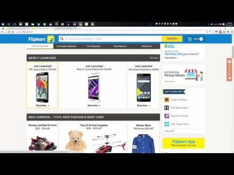 How to Remove Credit card and bank details or information from Flipcart