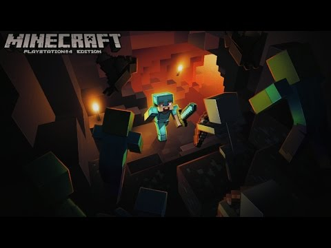 Minecraft PS4 Edition Gameplay First Look 1080P