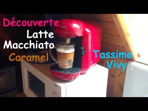 Tassimo: présentation Latte Macchiato caramel