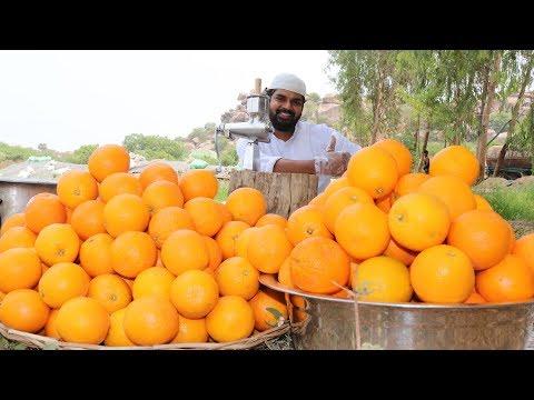 Fresh Orange Juice Recipe for kids || Nawabs kitchen