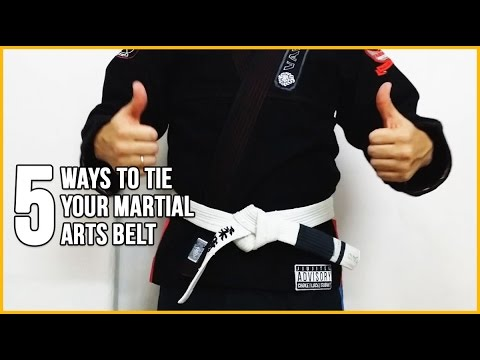 5 Different Ways to Tie Your Judo/BJJ/Karate Martial Arts Belt