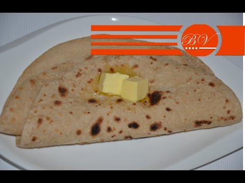 Whole Wheat Flat Bread / Roti