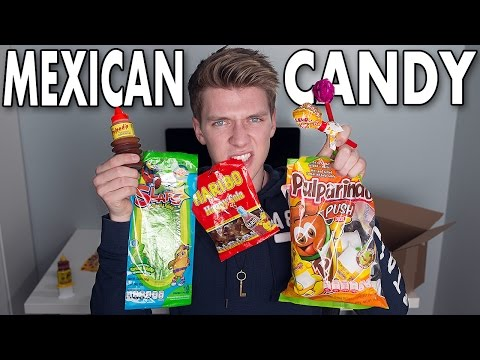 TASTING MEXICAN CANDY | Collins Key