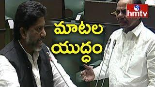 War of Words Between CM KCR and Bhatti Vikramarka | TS Budget Session | hmtv Telugu News
