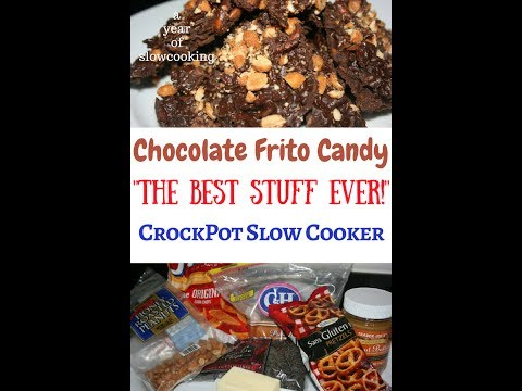 Chocolate Frito Candy CrockPot Slow Cooker Recipe