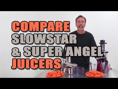 Slowstar & Super Angel Juicers Compared