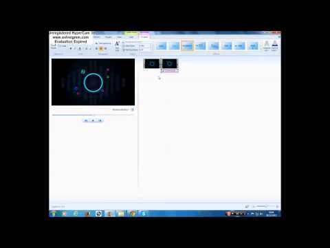 How To Make A Professional Intro Using Windows Movie Maker!