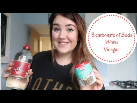 HOW TO CLEAN OVEN USING   BICARBONATE of SODA   VINEGAR   WATER