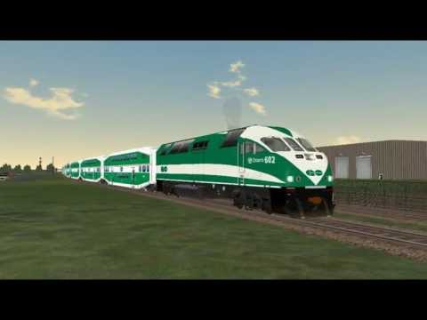 MSTS: GO Transit Train, Aldershot to Burlington