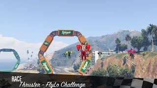 GTA 5 Online | Special Vehicle Race Thruster - Fly Low Challenge
