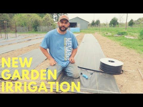 Installing Garden Drip Tape Irrigation System: Preparing for Summer!!!