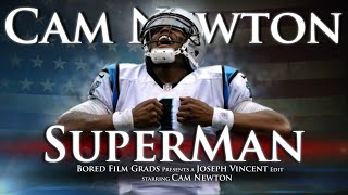 Cam Newton Superman