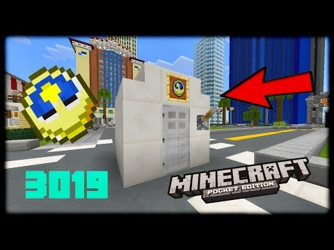 Minecraft PE | How to make a Working Time Machine