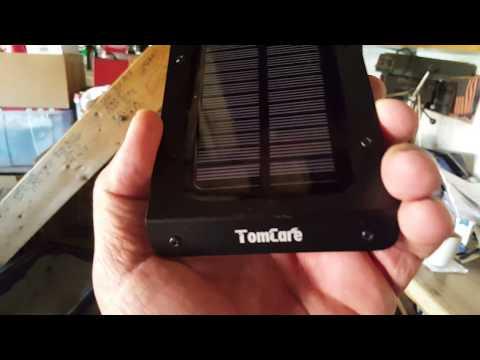 Solar Powered Security L.E.D. Lights.