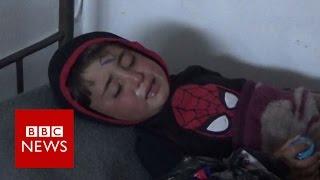 Children caught in Syria