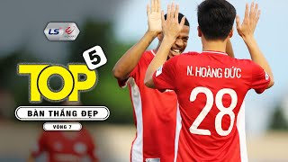 Top 5 Bàn thắng đẹp Vòng 7 V.League 2020 - Top Goals V.League