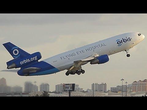 {TrueSound}™ Orbis Flying Eye Hospital DC-10 / MD-10 Takeoff from Ft. Lauderdale